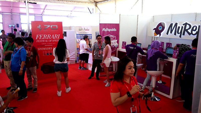 MyRepublic Dukung Ferrari Festival of Speed 2017