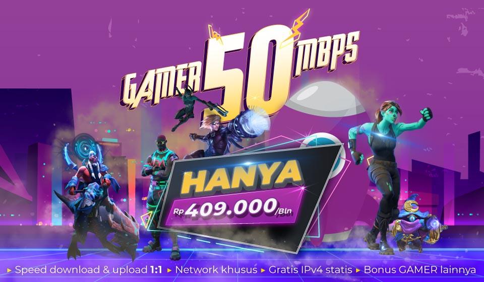 Gamer 50 Mbps