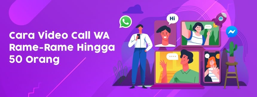 Cara WhatsApp Video Call Rame-Rame Sampe 50 Orang