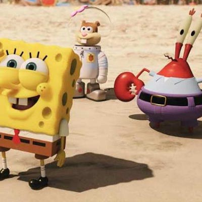 The SpongeBob Movie : Sponge Out of Water