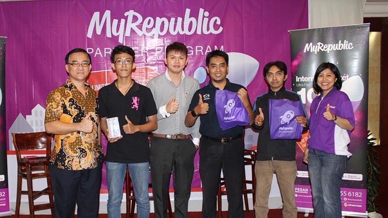 Seminar MyRepublic Partner Program di Semarang