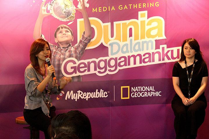 "MyRepublic dan National Geographic Gelar Rangkaian Acara ""Dunia Dalam Genggamanku"""