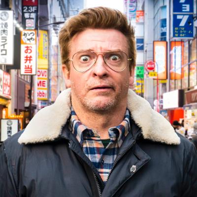 Rhys Darby in Japan